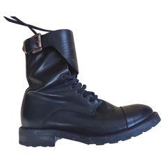 05c82a18522 Leather boots Hope Black size 36 EU in Leather - 5743676 Lederen Laarzen,  Zwart Leer
