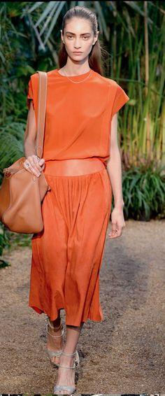 Hermes Spring 2014  - Mode prêt à porter - Haute couture - Hermes