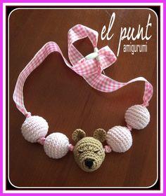 Collar de lactancia www.facebook.com/elpuntamigurumis