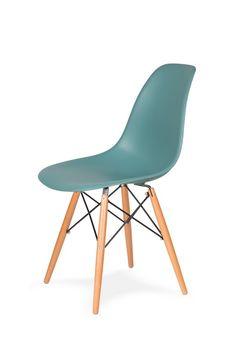Krzesło DSW, turkusowe