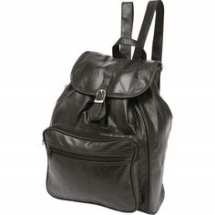 Embassy Lambskin Leather Hobo Sling Motorcycle Backpack Purse ...