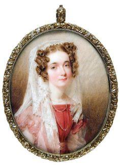 Gertrude Livingston Lowndes, attr. Henry Inman, ca. 1825; GMA 1939.001.0002