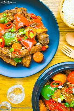 Easy Korean Braised Pork Ribs (Galbijjim) 돼지갈비찜 A super delicious non-spicy savory dinner. Always eaten at Chuseok, Seol, birthday parties, wedding parties and special events. Perfect for impressing your party guests.