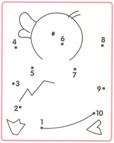 Crafts,Actvities and Worksheets for Preschool,Toddler and Kindergarten.Free printables and activity pages for free.Lots of worksheets and coloring pages. Preschool Writing, Numbers Preschool, Preschool Learning, Preschool Activities, Teaching Kids, Printable Preschool Worksheets, Kindergarten Math Worksheets, Worksheets For Kids, Number Worksheets