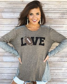 Football Love – LIMITED EDITION – Ribbed Sweater
