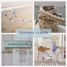 ** Personally selected products **: Summer colors