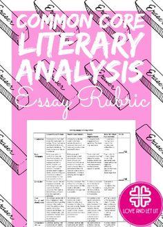 LiteraryAnalysisOutline By Diane Via Slideshare  Teaching