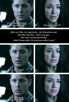 [gifset] 4x15 Death Takes A Holiday #SPN #Dean #Tessa