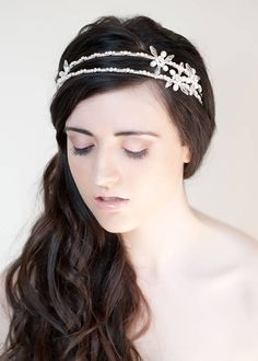 catherine wheel asymmetric double headband by tiararama | notonthehighstreet.com