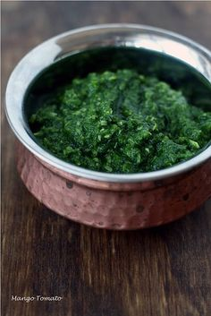 mint, parsley, chili & coconut chutney. great for mixing into potato or tuna salads, spread on sandwiches or mixed in pasta