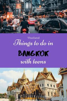 Bangkok is an Asian megacity and such bring many attractions and activities for you and your teen to do, see, try and taste Bangkok with teenagers Bangkok Travel, Bangkok Thailand, Thailand Travel, Asia Travel, Travel Tips, Travel Ideas, Bangkok Trip, Travel With Kids, Family Travel