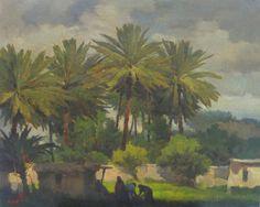 raad al adham - Iraqi landscape - oil - 2011