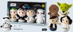 Sar Wars™ itty bittys®: Storm Trooper, Han & Leia, Hoth (stockings-check) #ittybittys @influenster @hallmark