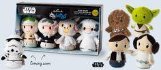 Sar Wars™ itty bittys®: Storm Trooper, Han & Leia, Hoth (stockings-check) #ittybittys @influenster @hallmark