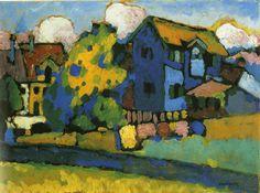 thunderstruck9: Wassily Kandinsky (Russian, 1866-1944), Murnau...