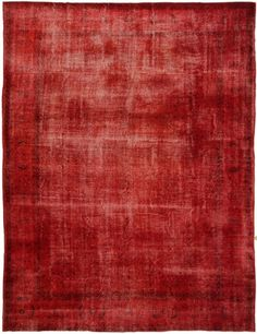 2755 Overdyed Vintage Rug 300x395cm