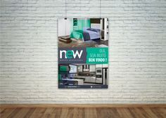 Job: Banner | Cliente: New Móveis Planejados | Software: Photoshop CS6.