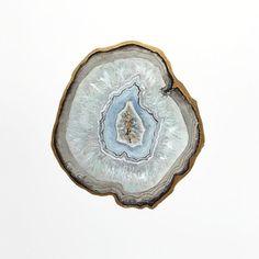 Blue Topaz Agate Slice Print, Crystal Print, Gemstone Print, Mineral Art, Stone Painting, Crystal Decor, Crystal Art, Agate Art, Gem Print