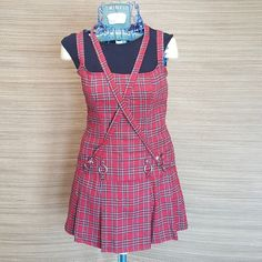 "LIP SERVICE Punk & Disorderly (Hot Topic) ""Punk Princess"" mini dress #46-231-HT"