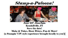 All Day Stamping Event! Stampin' UP! Card Making, Events