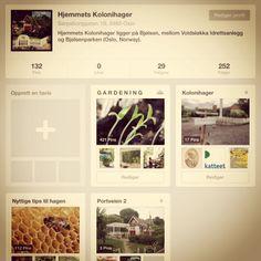 Del eller tips oss om andre Pinterest som er relatert til hage ol. http://www.pinterest.com/hjemmets