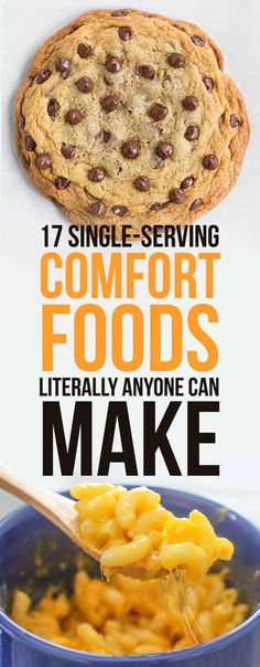 17 Single-Serving Comfort Foods Literally Anyone Can Make - Easy Recipes Single Serve Meals, Single Serving Recipes, Single Serving Cookie Dough, Single Serve Cookie, Mug Recipes, Cooking Recipes, Healthy Recipes, Microwave Recipes, Healthy Breakfasts