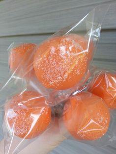Delicious Orange sherbet cake pops!