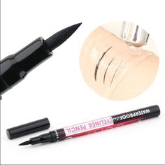 Waterproof Liquid Eyeliner(not mac) 100% brand new, safe and high quality Women Black Waterproof Eyeliner. Questions are welcome. Get 25% off on 3+ bundles. Thank you and namaste  MAC Cosmetics Makeup Eyeliner