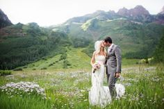 love the thought of wedding photography in the mountains!