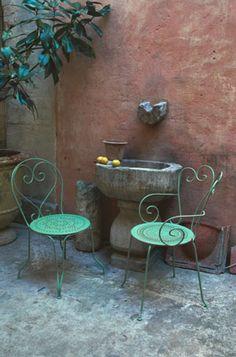 Barbara Sandson: Terrasse de Provence