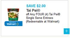 $2 off any Four Tai Pei Single Serve Entrees