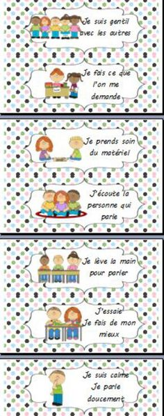French Classroom, Classroom Rules, Classroom Organization, Classroom Management, Education Positive, Class Rules, French Grammar, French Resources, French Immersion