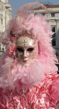Pink Mardi Gras - Venice, Italy Carnival ~ 2013