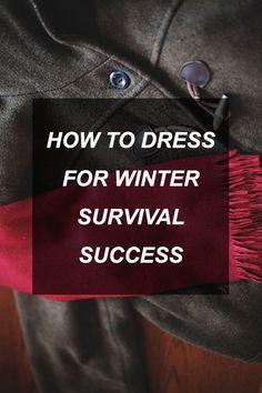 How to Dress for Winter Survival Success | Survival Shelf | Survival & Preparedness Links