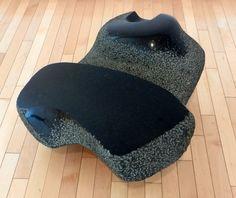 Photo of The Noguchi Museum - Long Island City, NY, United States. Isamu Noguchi; Infant; 1972; miharu granite