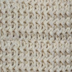 My Tunisian Crochet: Braided Knit Stitch