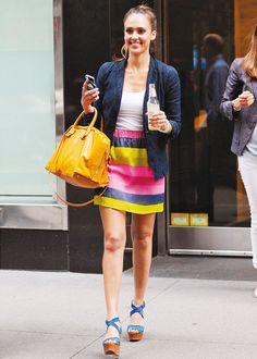 Jessica Alba summer style