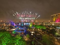 Houston celebrates New Year's Eve with an art-car parade, free concerts and fireworks at midnight.
