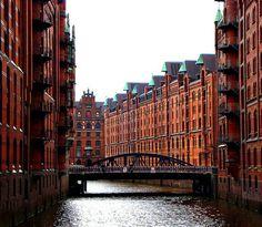Speicherstadt , Hamburg