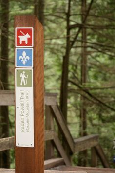 North Vancouver Parks signage and wayfinding program • Ion Brand Design • Vancouver, BC, Canada