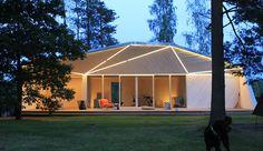 First built Atelier House near lake Hvitträsk in Finland.
