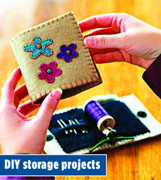Simple Spring Sewing Projects For Beginners Needle Book, Needle Case, Sewing Crafts, Sewing Projects, Sewing Kits, Diy Storage Projects, Sewing Spaces, Sewing Rooms, Wool Applique
