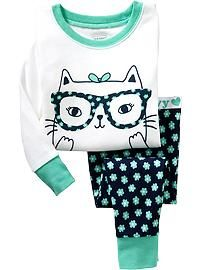 Cat PJ Sets for Baby