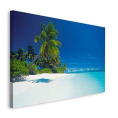 Poster: Maldives Lagoon online te koop. Bestel je poster, je 3d filmposter of soortgelijk product Deco Block 118x70