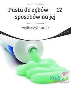 Pasta do zębów — 12 #sposobów na jej wykorzystanie  Czy wiesz, że pasta do zębów jest #bardzo skutecznym środkiem, aby #wyeliminować przykry zapach rąk? Zwłaszcza te zapachy, które pozostają po #krojeniu cebuli lub czosnku. Personal Care, Personal Hygiene