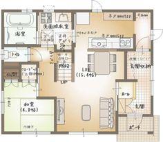 Plan_0066 Floor Plans, Flooring, How To Plan, Room, House, Design, Home Decor, Spaces, Bedroom