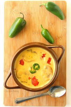 Roasted Jalapeno Soup kicks dinner up a notch