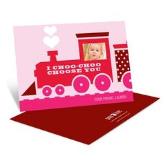 All aboard! Get ready to ride the choo choo train along with your little one as the engineer on these Valentine's Day cards for kids.