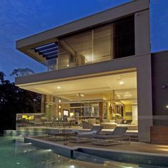A House Vaucluse by Bruce Stafford Architects.