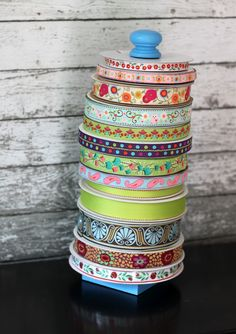 Looking to organize your craft room? Check out this DIY Ribbon Holder Tutorial from The Cottage Mama. www.thecottagemama.com